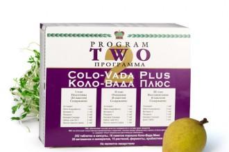 Głębokie oczyszczanie organizmu z programem Colo Vada Plus